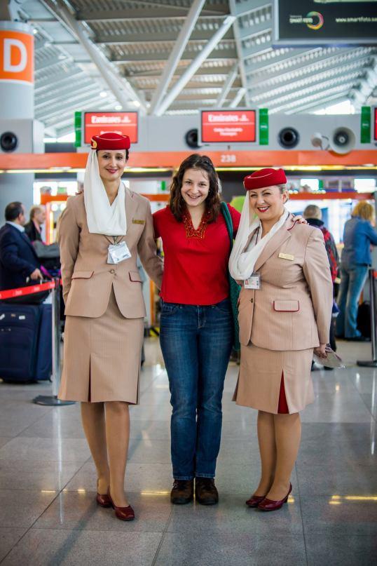 Emirates w Warszawie
